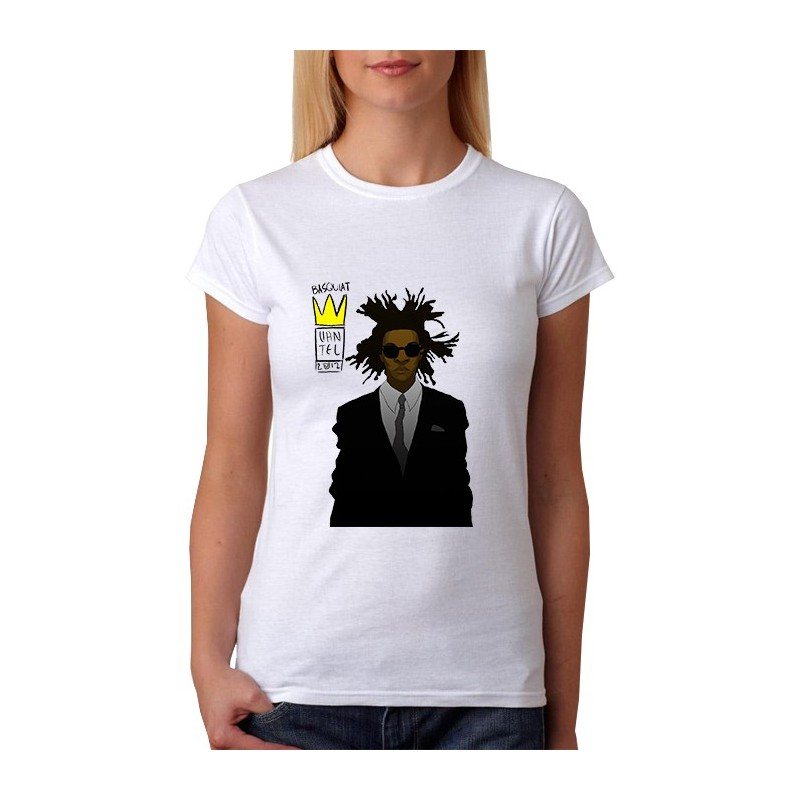 T-Shirts - Basquiat By Vantelturner