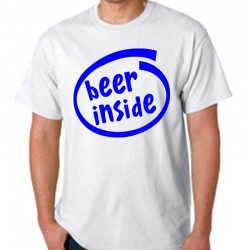 T-Shirts - BEER INSIDE
