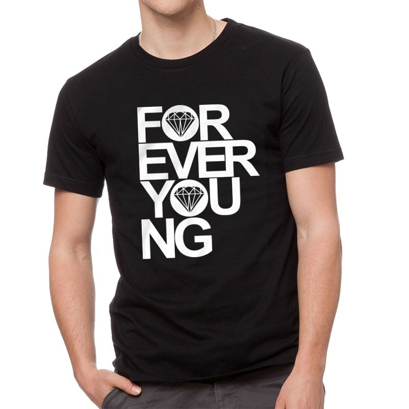 T-Shirts - FOREVER YOUNG