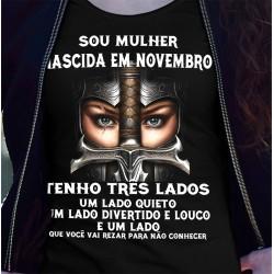 T-Shirts - SOU MULHER DE NOVEMBRO