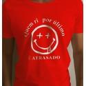 T-Shirts - QUEM RI POR ÚLTIMO É ATRASADO