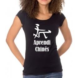 T-Shirt Aprendi Chinês